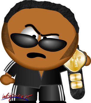 Free WWE South Park - The Rock.jpg phone wallpaper by cacique