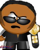 WWE South Park - The Rock.jpg wallpaper 1