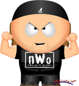 Free WWE South Park - Shawn Michaels (nWo).jpg phone wallpaper by cacique