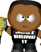 South Park WWE The Rock.jpg wallpaper 1