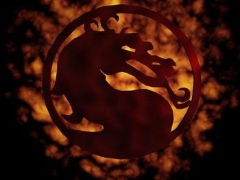 Free Mortal Kombat fire dragon.jpg phone wallpaper by cacique