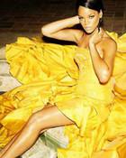 Rihanna - YLW dress