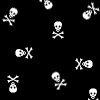 Free tiny white skulls.jpg phone wallpaper by cacique