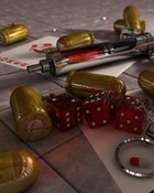 bullets and cards