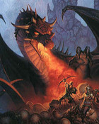 Boris Vallejo - Dragons lair.jpg