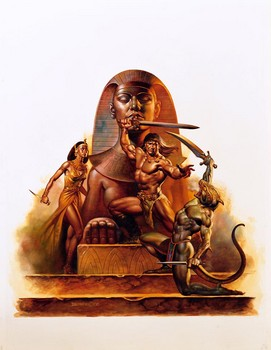 Free Boris Vallejo - Wallpaper - Dragons & Wizards  Egyptian Warr.jpg phone wallpaper by cacique