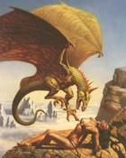 dragon - attacking nude woman (Boris Vallejo)(1).jpg