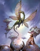 Pics - Gothic - Boris Vallejo - Dragon Fairy 1981.jpeg