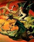 Boris Vallejo - 1981 - Flight of the Dragons.JPG wallpaper 1
