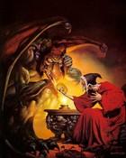 Boris vallejo -  Dragon's Knight.jpg