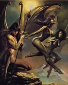 Fantasy art - Boris Vallejo - Three Dark Angels.jpg