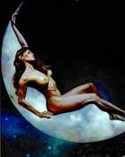 Fantasy art - Boris Vallejo - Naked girl on the moonlight nude erotic fantasy 068(1).jpg