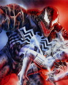 Boris Vallejo - Marvel Comics (& Luis Royo) - Silver Sable Vs Venom.jpg