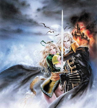 Free Luis Royo - Castlevania - Symphony of the Night.jpg phone wallpaper by cacique