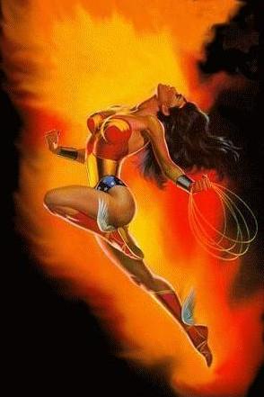 Free dc & marvel comics - alex ross - wonderwoman.jpg phone wallpaper by cacique