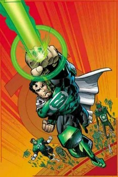 Free DC Comics - Superman as Green Lantern - Alex Ross [430x642].jpg phone wallpaper by cacique