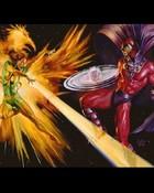 Comics - Marvel - X-Men - Phoenix vs Magneto (1).JPG