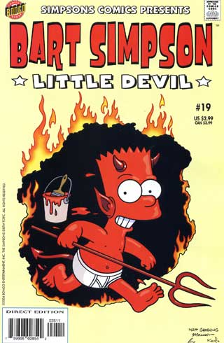 Free bart simpsons as devil.jpg phone wallpaper by cacique