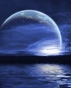 blue moon lights.jpg wallpaper 1