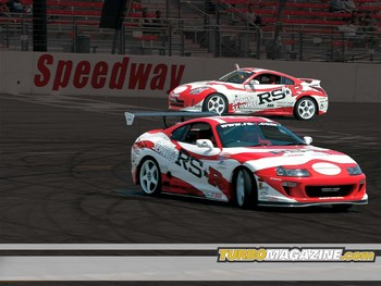 Free Cars- Toyota Supra & Nissan 350Z Drifting.jpg phone wallpaper by cacique