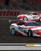 Cars- Toyota Supra & Nissan 350Z Drifting.jpg wallpaper 1