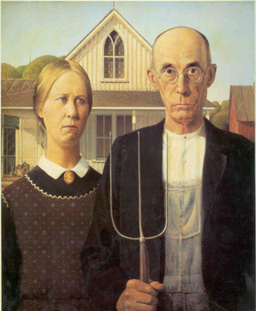 Free Grant Wood_American_Gothic.jpg phone wallpaper by cacique
