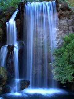 Free waterfall phone wallpaper by musclelaura