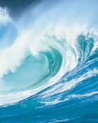 blue wave wallpaper 1