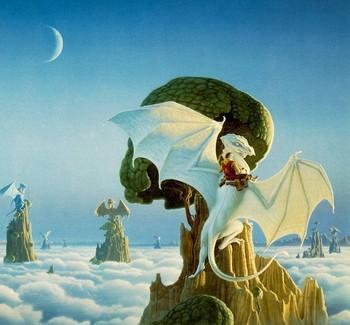 Free Boris Vallejo - Celestial Dragons.jpg phone wallpaper by cacique