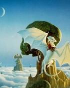 Boris Vallejo - Celestial Dragons.jpg wallpaper 1