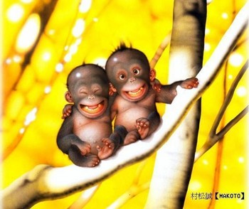 Free funny monkeys.jpg phone wallpaper by cacique