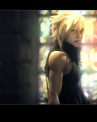 Cloud Closeup - Final Fantasy VII Advent Children.jpg wallpaper 1